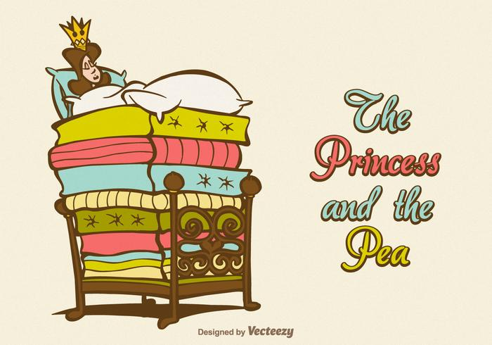 Free Vector The Princess And The Pea