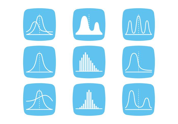 Bell Curve Icons