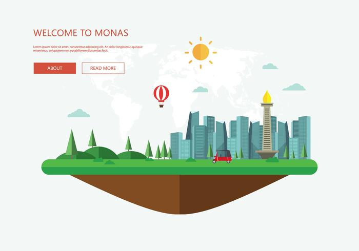 Free Monas Illustration