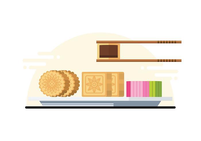 Mooncake Illustration