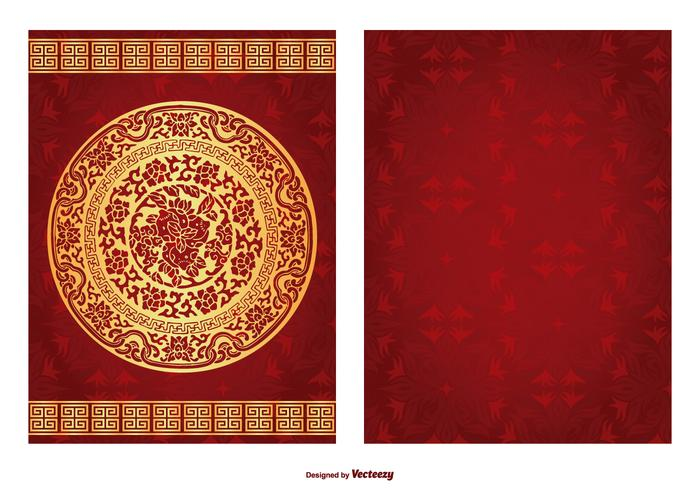 Chinese Red Packet Illustration