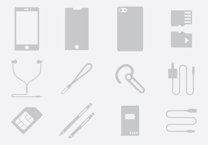Gray Phone Accessories