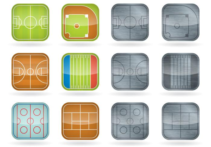 Sport Field Icons