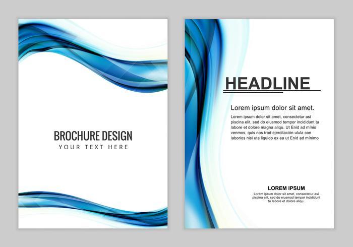 Free Vector Brochure Background