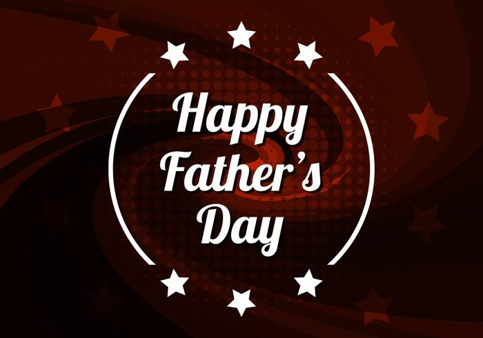 Free Vector Happy Father's Day Background