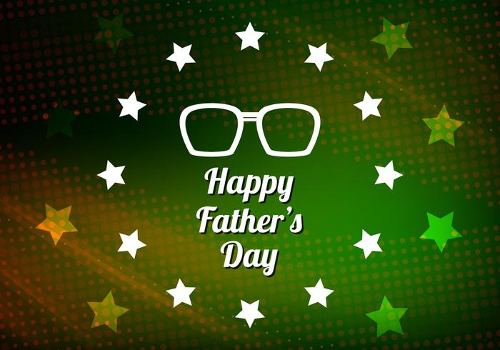 Free Vector Modern Father's Day Background