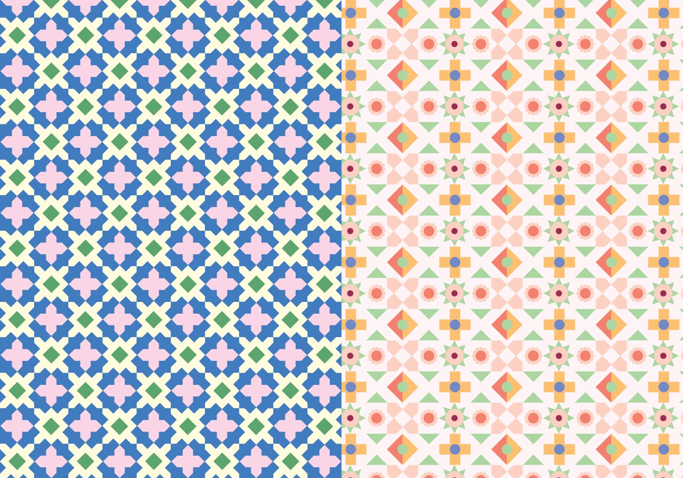 Decorative Mosaic Pattern Download Free Vectors Clipart