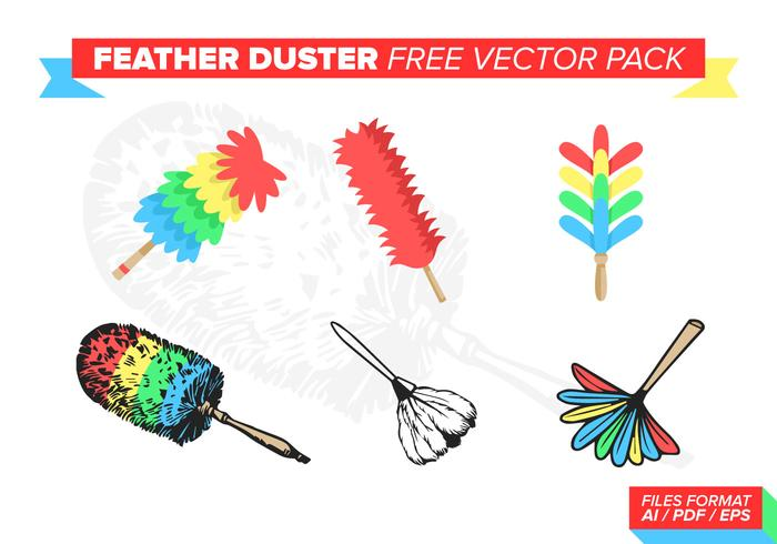 Feather Duster Free Vector Pack