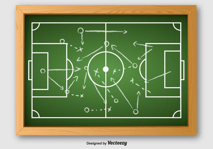 Vector Of Football Plan