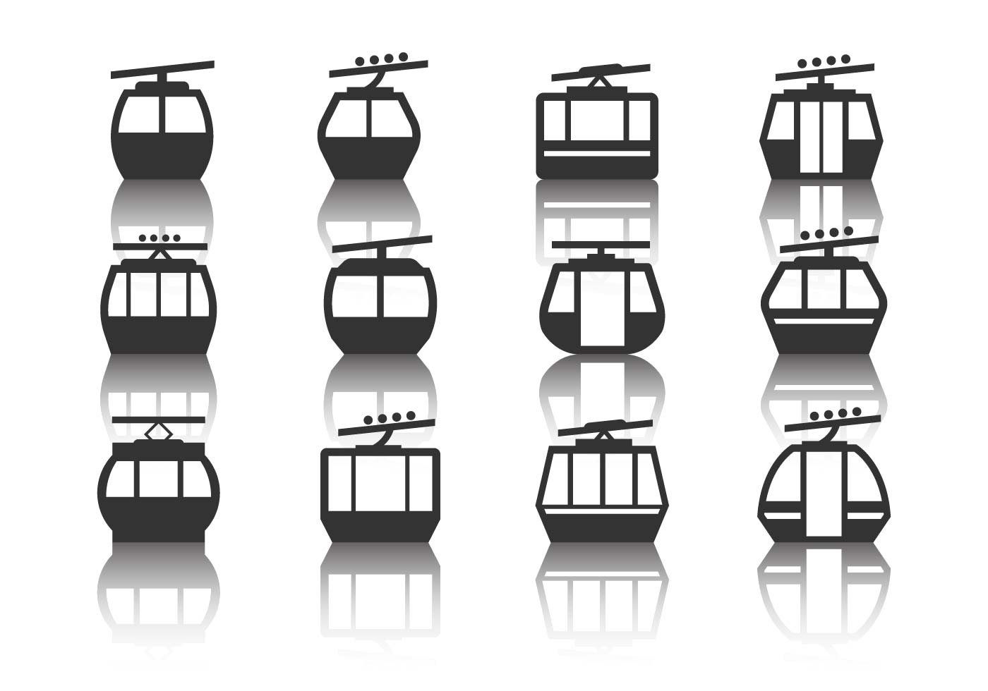 Cable Car Vector - Download Free Vector Art, Stock Graphics & Images