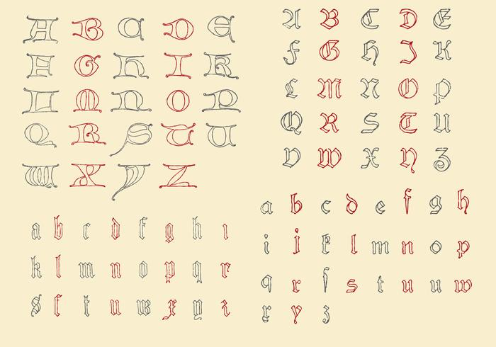 Antique Alphabets