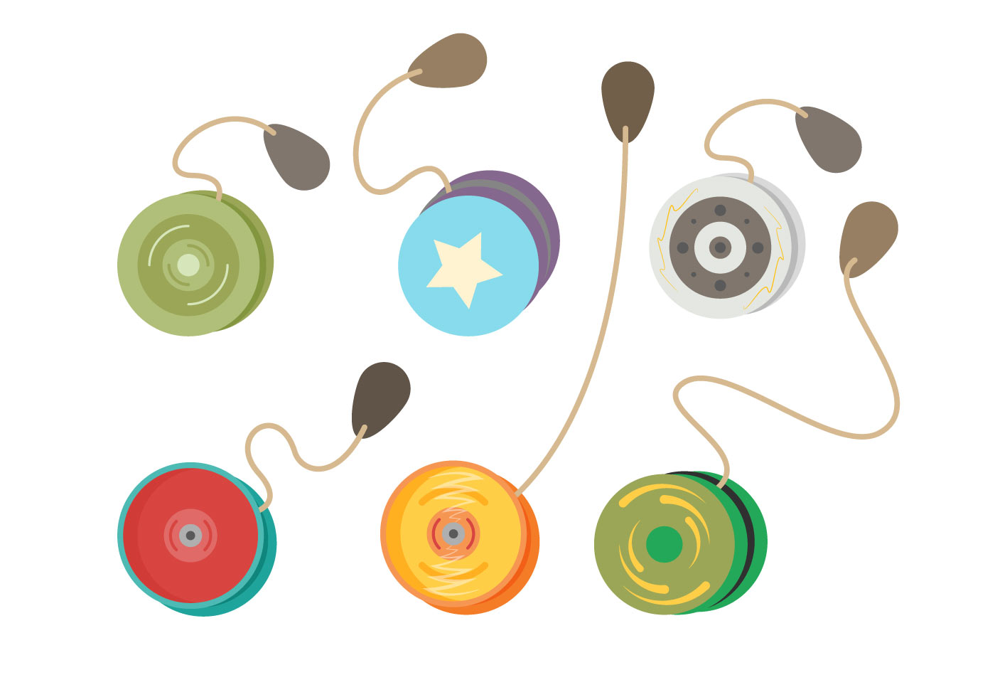 Free Yoyo Vector Download Free Vector Art Stock