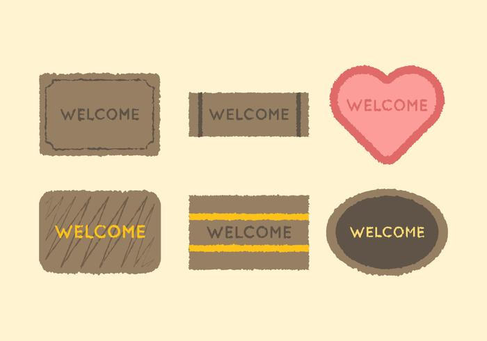 Free Welcome Mat Vector 2