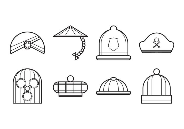 Free Hat Icon Vector