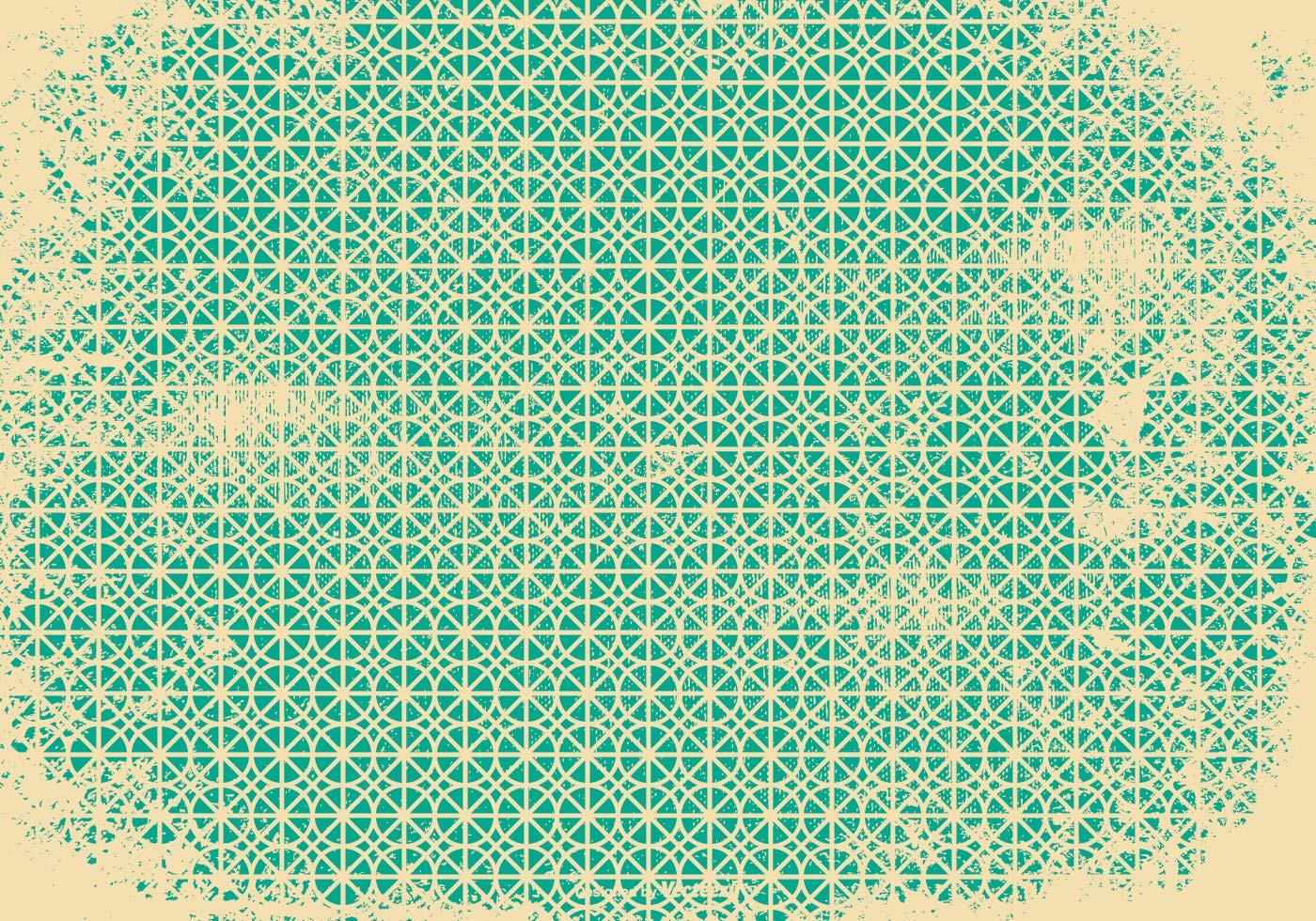 Retro Grunge Pattern Background
