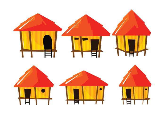 Bright Shack Vector