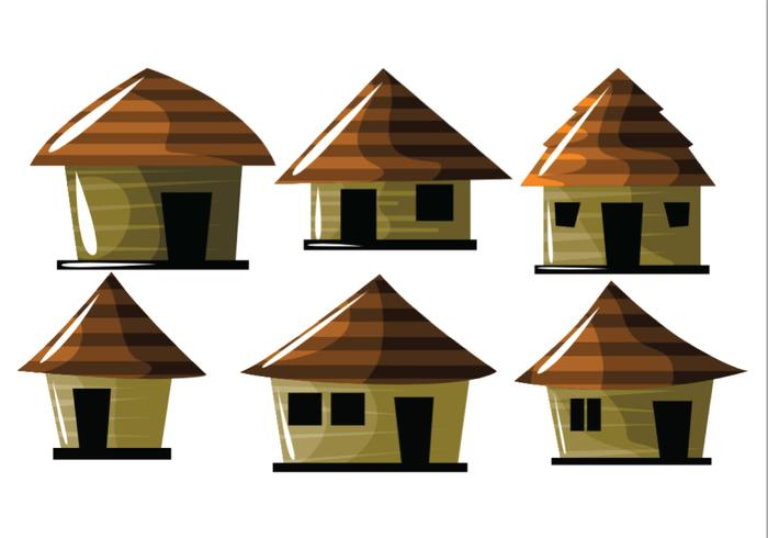 Cute Shack Vectors