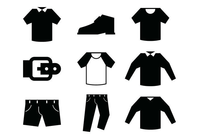 Men Fashion Icon vector