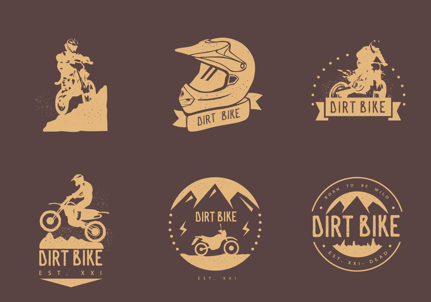 bike logo free vector art 6125 free downloads