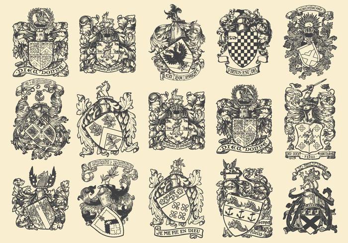 Complexe Heraldische Emblemen