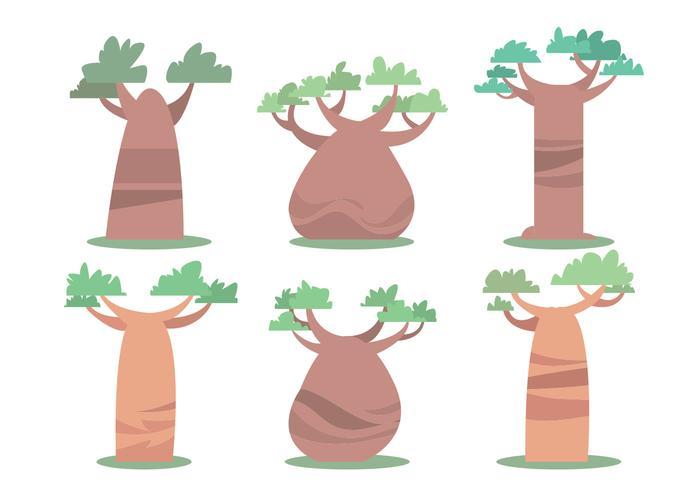 Baobab Vector Set
