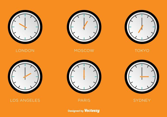 Time Zones Vector Clocks