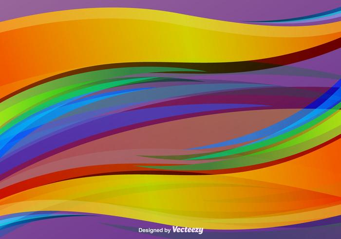 Colorful Swish Vector Background