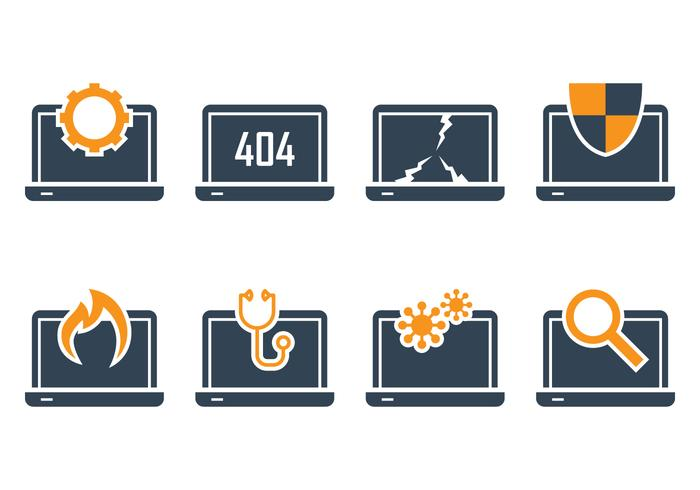 Notebook Icon Set vector