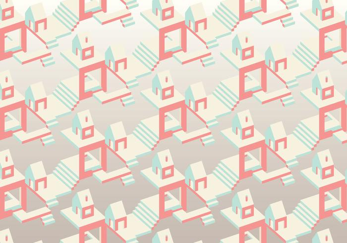 Isometric Vector Pattern