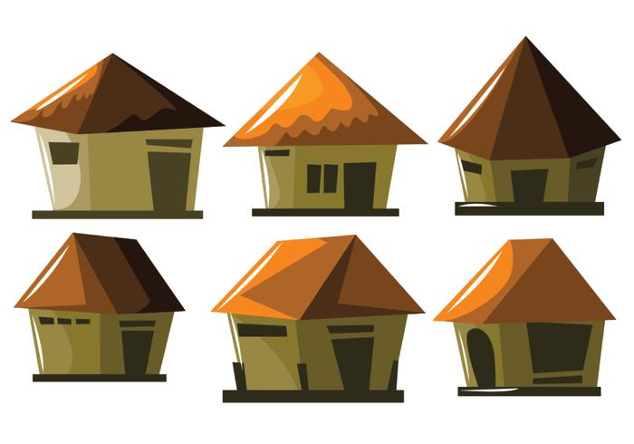Pequeno shack vector