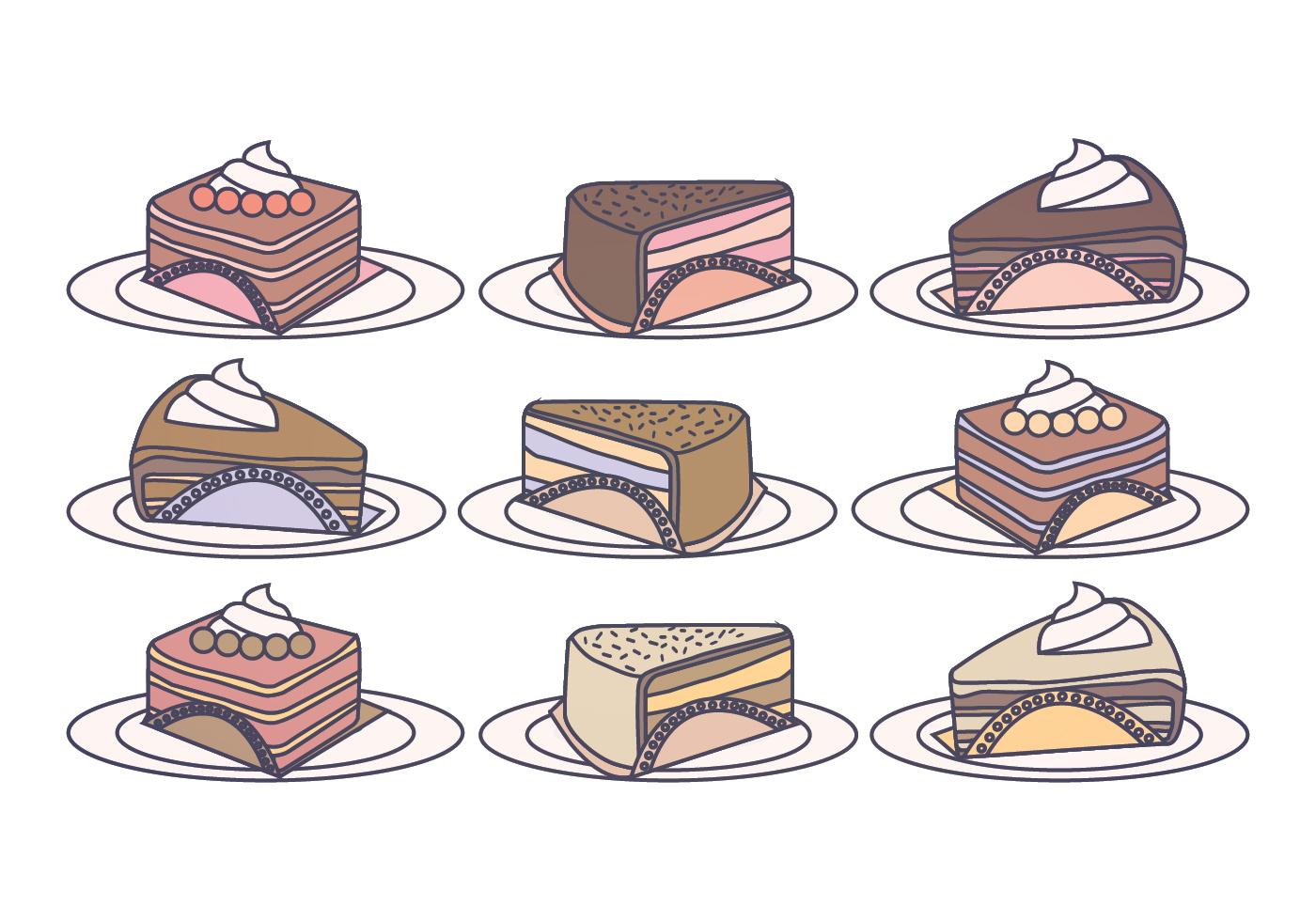 蛋糕插圖 免費下載 | 天天瘋後製