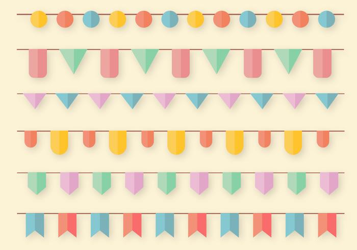 Gratis Garlands Vector