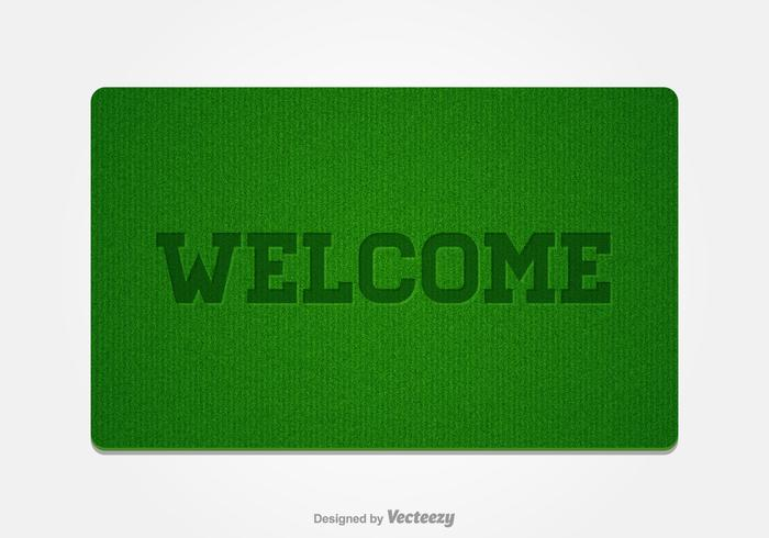 Free Welcome Doormat Vector