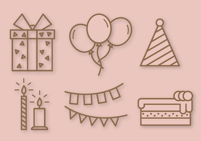 Free Birthday Party Vector