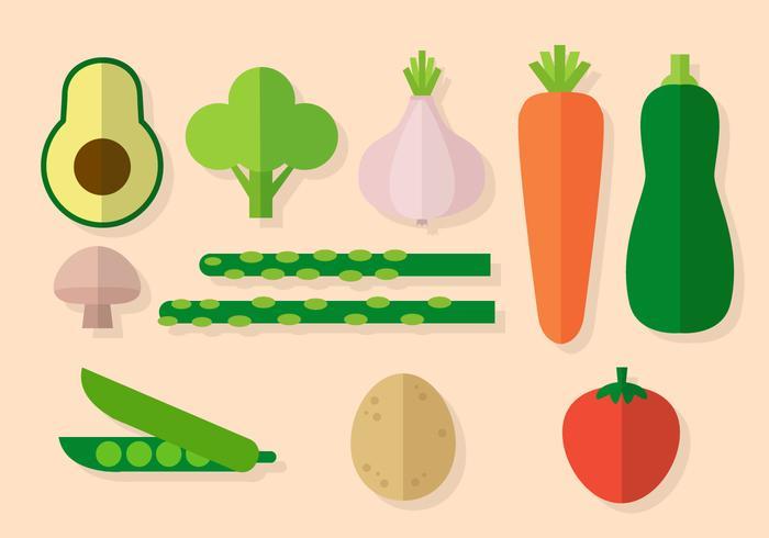 Vector Vegetales Gratis