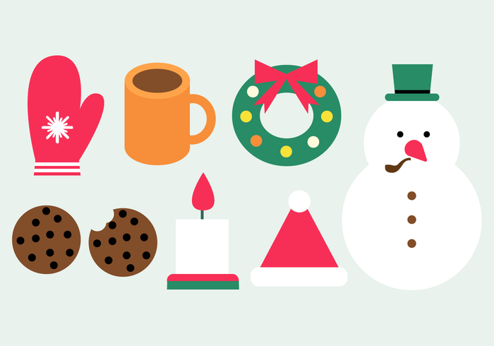 Free Winter Elements Vector
