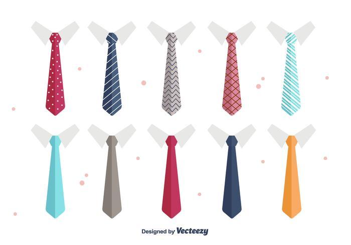 Vecteur cravate