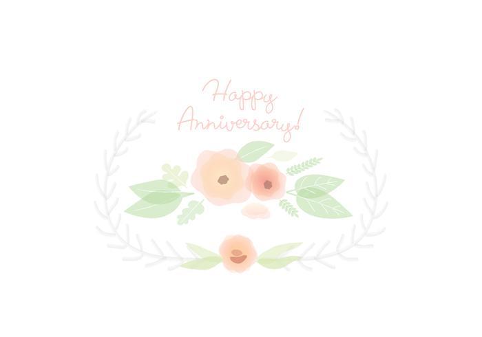 Ilustração do cartão da flor vetor