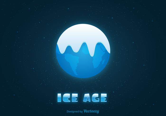 Gratis Ice Age Earth Vector Illustratie
