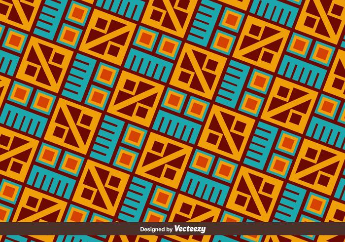 Ethnic Inca Vector Pattern