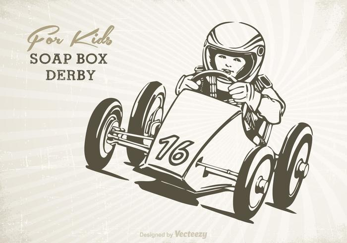 Free Retro Soap Box Vector Poster