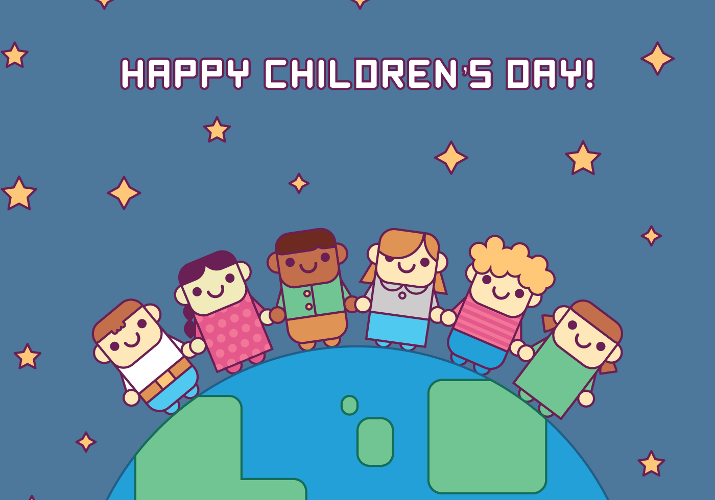 Children Outline Free Vector Art - (5060 Free Downloads)