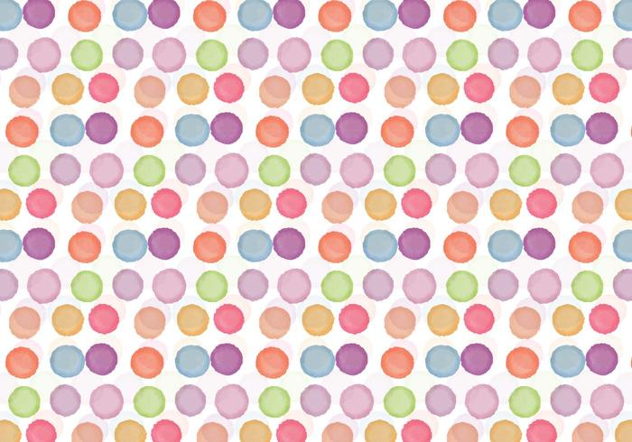 Free Vector Watercolor Dot Background