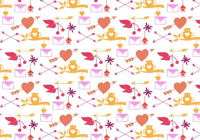 Free Vector Nature Doodle Background