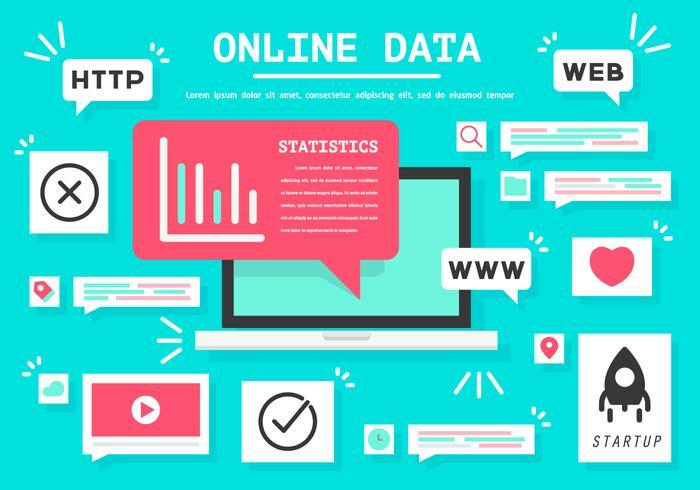 Free Online Data Vector Illustration
