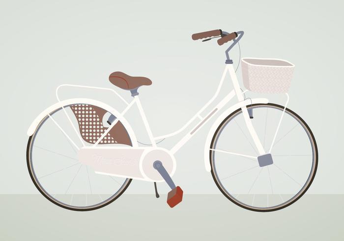 Vektor cykel illustration