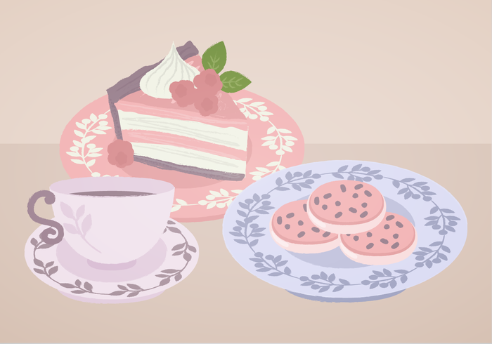 Vector Teacup Illustration