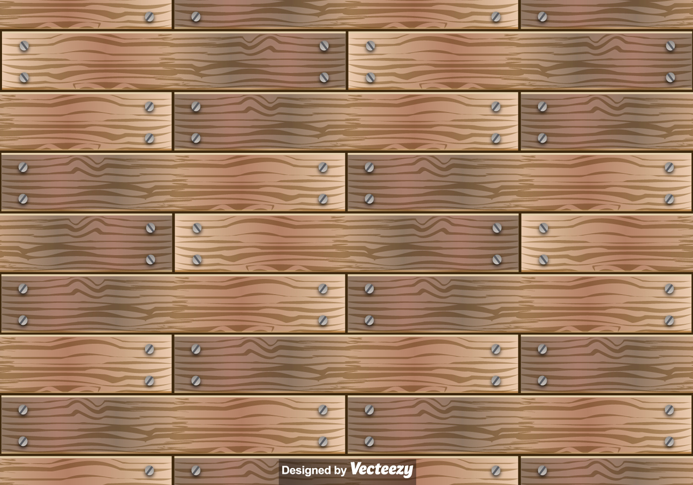 Wooden Planks Vector Seamless Pattern Download Free