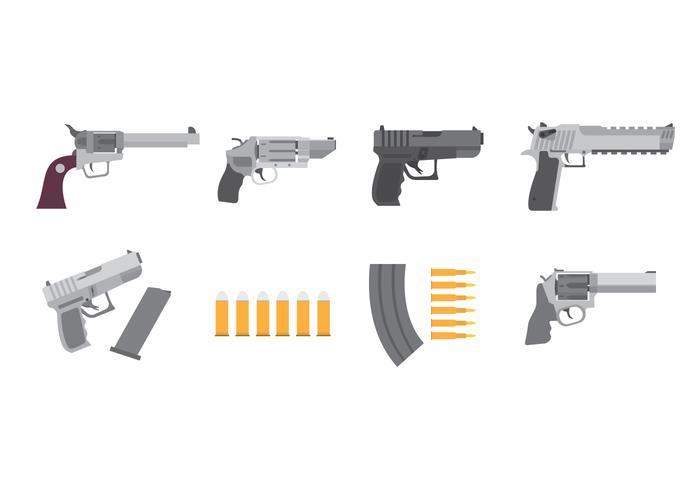 Free Guns Vektor