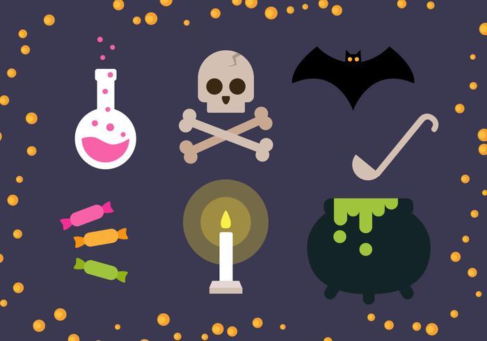 Freier Halloween-Vektor vektor